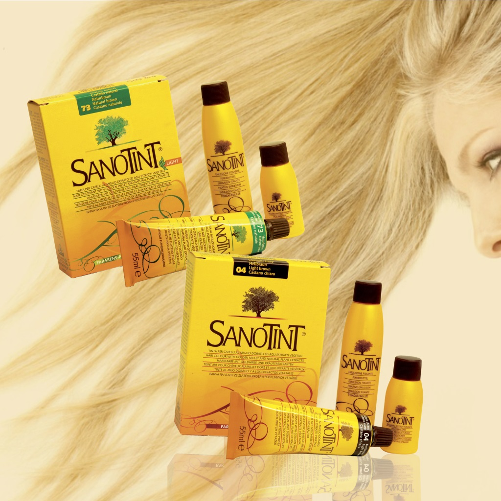 Краски для волос СаноТинт